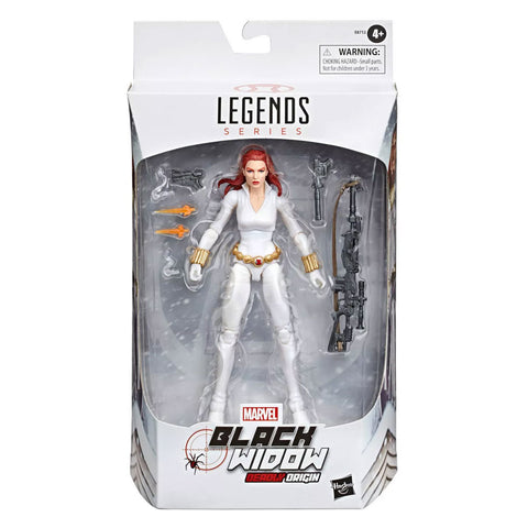Hasbro Marvel Legends Target Exclusive Black Widow Deadly Origin White Comic Box Package Front