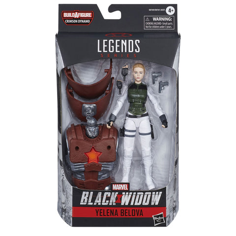 Hasbro Marvel Legends Black Widow Film Yelena Belova Crimson Dynamo Box Package Front