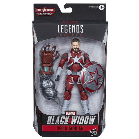 Hasbro Marvel Legends Black Widow Film Red Guardian Crimson Dynamo Box Package Front
