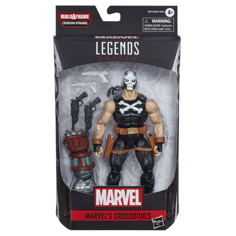 Hasbro Marvel Legends 6-inch Crossbones Crimson Dynamo wave box package front