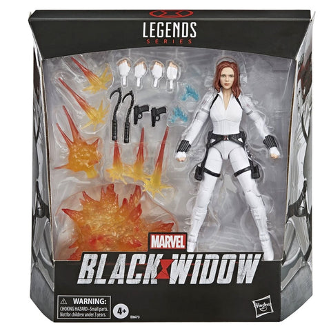 Hasbro Marvel Legends Deluxe Black Widow MCU scarlett Johnansson Box Package Front