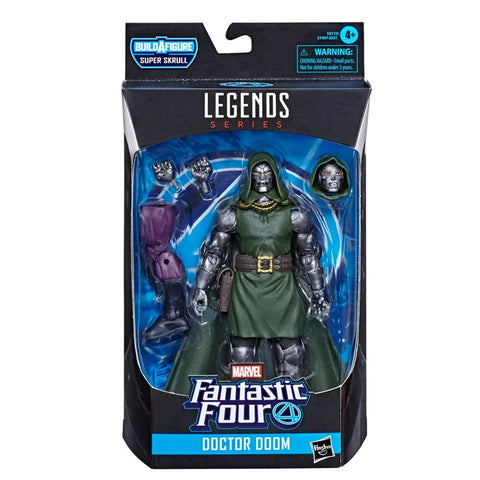 Hasbro Marvel Legends 6-inch Fantastic Four Doctor Doom Box Package Front
