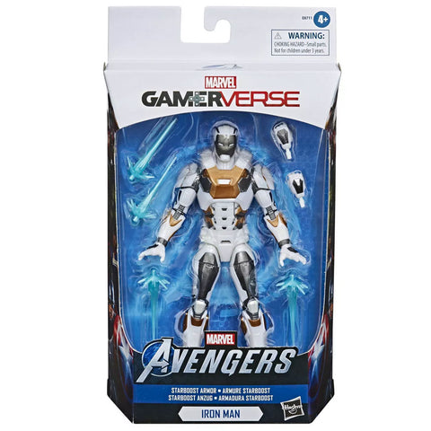Hasbro Marvel Legends Series Gamerverse Starboost Armor Iron Man White box package front