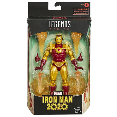 Hasbro Marvel Legends Series 6-inch Iron Man 2020 Walgreens Exclusive Box Package Front