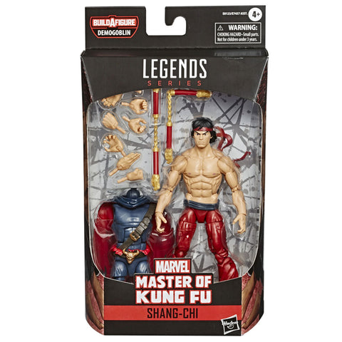 Hasbro Marvel Legends 6-inch Master of Kung-Fu Shang-Chi Box Package Front