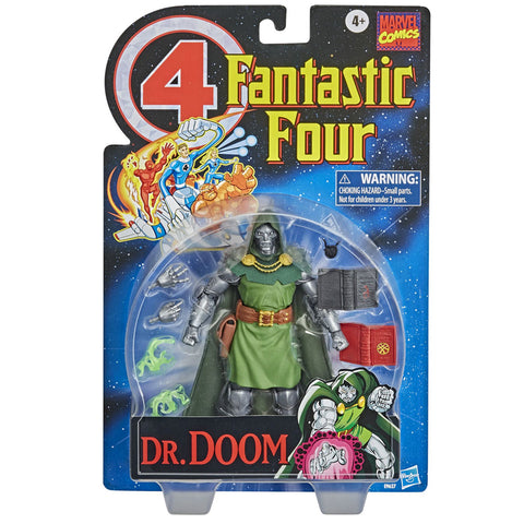 Hasbro Mavel Legends Retro Collection Dr Doctor Doom box package front