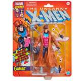 Hasbro Marvel Legends Retro Collection X-men Gambit Target Exclusive box package front