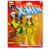 Hasbro Marvel Legends Retro Collection X-men Rogue Target Exclusive Box Package Front