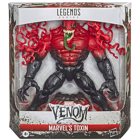 Hasbro Marvel Legends Series Marvel's Toxin Deluxe Box Package Front