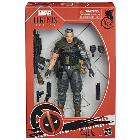 Marvel Legends Series X-Men Cable - 6 inch