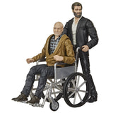 Hasbro Marvel Legends Series X-men Logan and Charles Xavier Film 2-pack GIftset pulsecon 2020 exclusive wheelchair toy