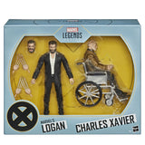 Hasbro Marvel Legends Series X-men Logan and Charles Xavier Film 2-pack GIftset pulsecon 2020 exclusive inner box package front