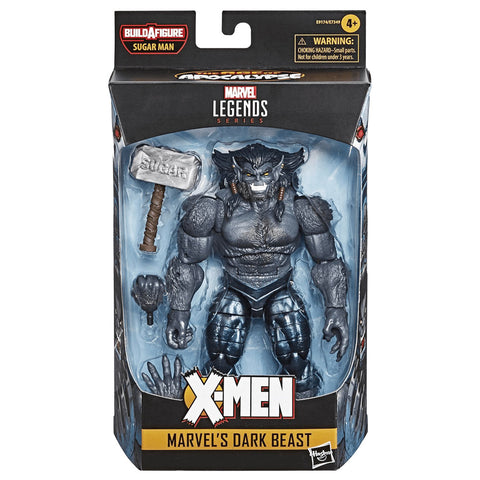 Hasbro's Marvel Legends Series X-men Marvel's Dark Beast Sugarman BAF Box Package Front
