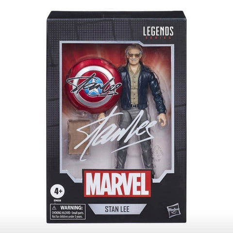 Hasbor Marvel Legends Stan Lee Box Package front