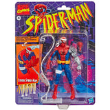 Hasbro Marvel Legends Vintage Collection Cyborg Spider-Man Target Exclusive 6-inch box package front