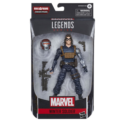 Hasbro Marvel Legends 6-inch Winter Soldier Crymson Dynamo wave box package front