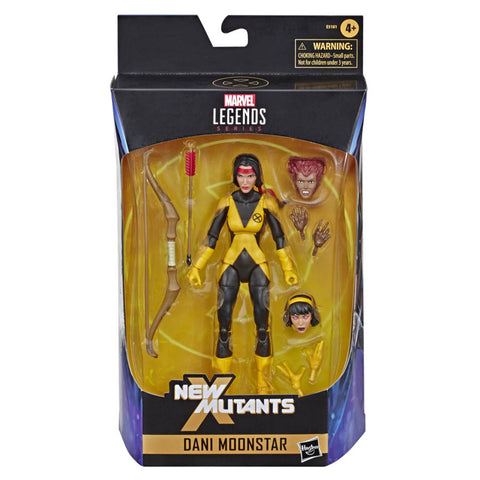 Marvel Legends 6-inch New Mutants Dani Moonstar Box Package