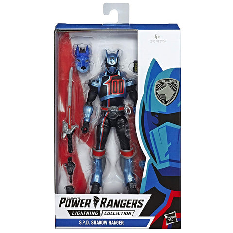 Hasbro Power Rangers Lightning Collection S.P.D. Shadow Ranger Box Package Front