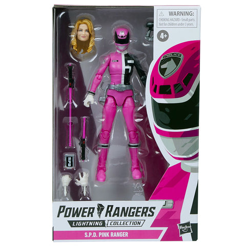 Hasbro Power Rangers Lightning Collection S.P.D. Pink Ranger Box Package Front