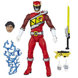 Hasbro Power Rangers Lightning Collection Dino Charge Red Ranger Action Figure Accessories