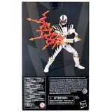 Hasbro Power Rangers Lightning Collection Dino Thunder White Ranger no paint helmet variant box package walgreens exclusive box package back