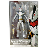 Hasbro Power Rangers Lightning Collection Dino Thunder White Ranger no paint helmet variant box package walgreens exclusive box package front photo