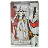 Hasbro Power Rangers Lightning Collection Dino Thunder White Ranger no paint helmet variant box package walgreens exclusive box package front