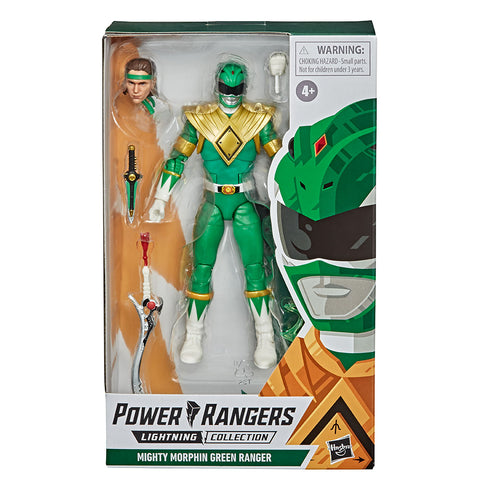 Hasbro Power Rangers lightning collection MMPR mighty morphin Evil Green Ranger box package front