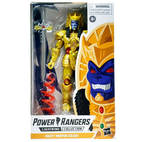 Hasbro Power Rangers Lightning Collection Mighty Morphin Goldar 2020 Box Package front