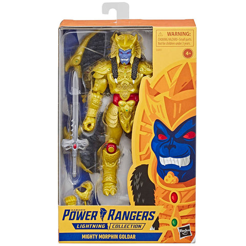 Hasbro Power Rangers Lightning Collection Mighty Morphin Goldar Box Pacakge Front