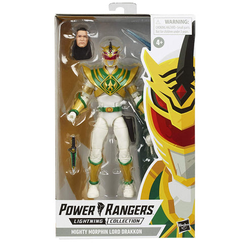 Hasbro Power Rangers Lightning Collection Mighty Morphin Lord Drakkon Box Package Front