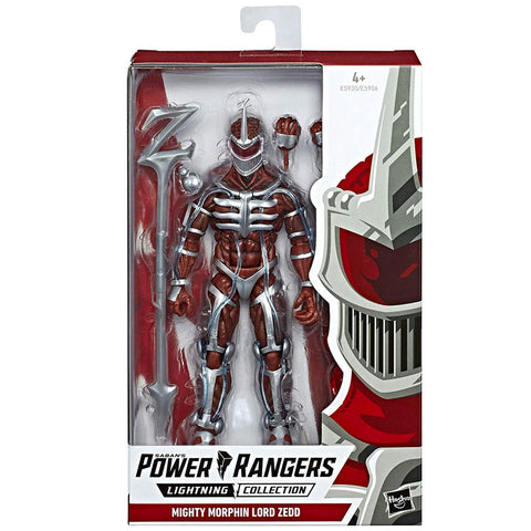 Hasbro Power Rangers Lightning Collection Mighty Morphin Lord Zedd Box Package Front