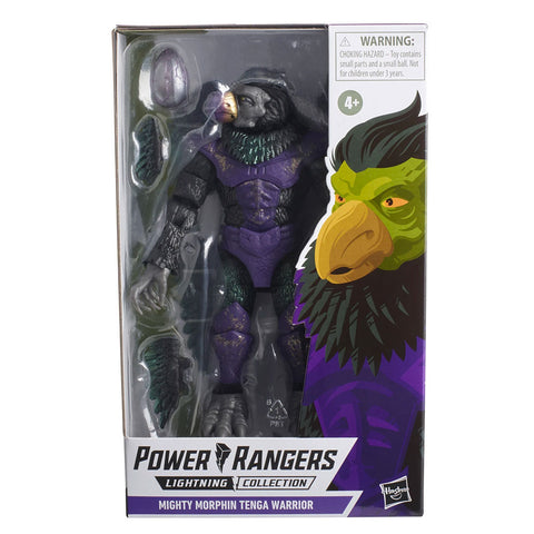 Hasbro Power Rangers Lightning Collection Mighty Morphin Tenga Warrior Box Package Front
