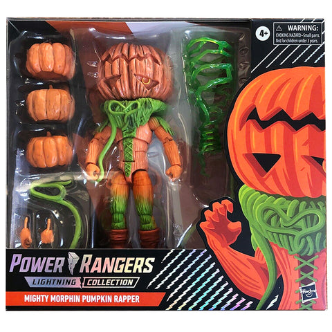 Hasbro Power Rangers Lightning Collection Spectrum Series Mighty Morphin Pumpkin Rapper Monster Target Exclusive Box Package Front