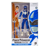 Hasbro Power Rangers Lightning Collection Mighty Morphin Blue Ranger Box Package Front