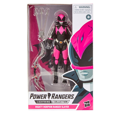 Hasbro Power Rangers Lightning Collection Mighty Morphin Pink Ranger Slayer Box Package Front
