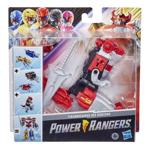 Hasbro Power Rangers Mighty Morphin Tyrannosaurus Rex Dinozord Megazord combiner box package front