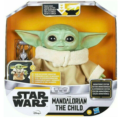 Hasbro Star Wars Mandalorian The Child Animatronic Edition Box Package front