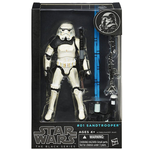 Star Wars The Black Series 01 Sandtrooper Corporal box package front