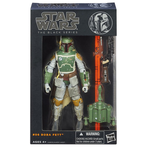 Hasbro Star wars The Black Series 06 Boba Fett box package front