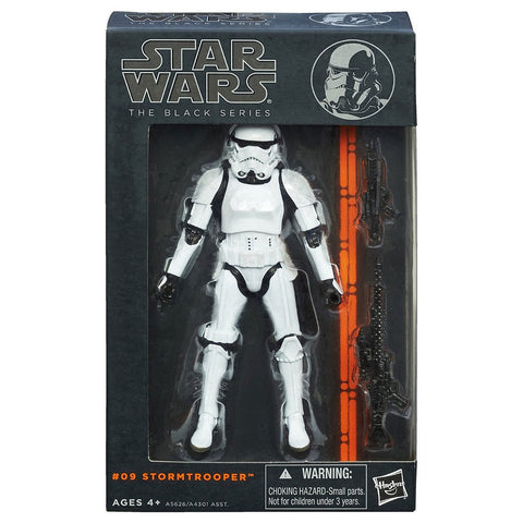 Hasbro Star Wars The Black Series 09 Stormtrooper box package Front