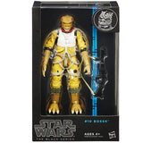 Hasbro Star Wars The Black Series 10 Bossk Blue Box Package Front