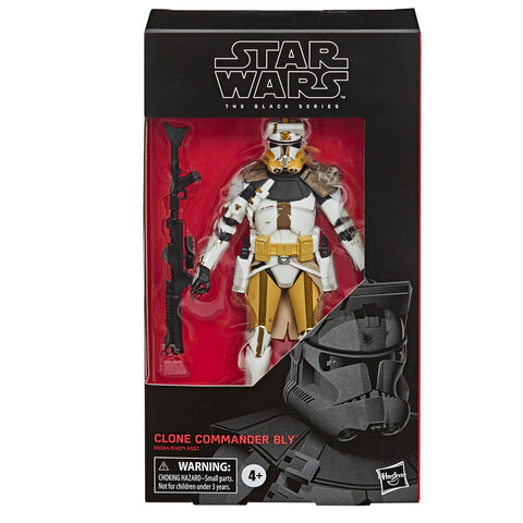Hasbro Star Wars The Black Series 104 Clone Commander Bly Box Package Front