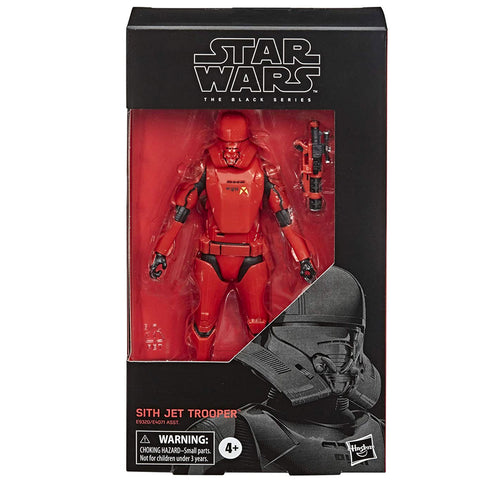 Hasbro Star Wars The Black Series 106 Sith Jet Trooper box package front