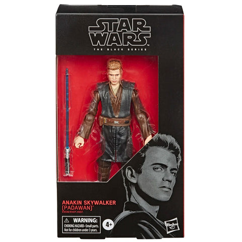 Hasbro Star Wars The Black Series 110 Anakin Skywalker Padawan box package front