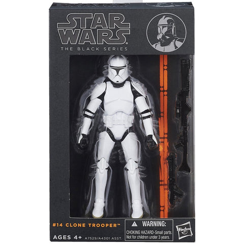 Hasbro Star Wars The Black Series 14 Clone Trooper Box Package Front