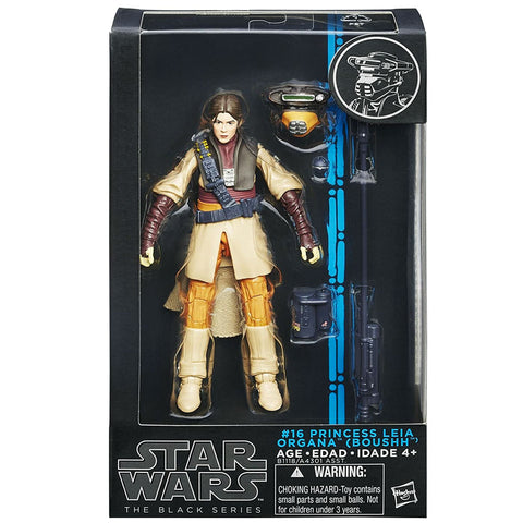 Hasbro Star Wars The Black Series 16 Princess Leia Organa Boushh Box package Front