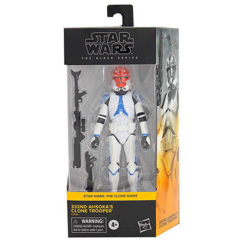 Hasbro Star Wars The Black Series Clone Wars 33nd Ashoka's Trooper Box Package Front