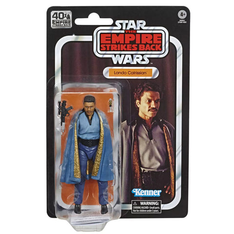 Hasbro Star Wars The Black Series 40th Anniversary Empire Strikes Back TESB Lando Calrissian Box Package Front