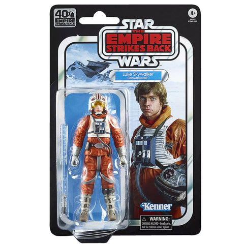 Hasbro Star Wars The Black Series Empire Strikes Back TESB 40th anniversary Luke Skywalker Snowspeeder Hoth Box Package Front